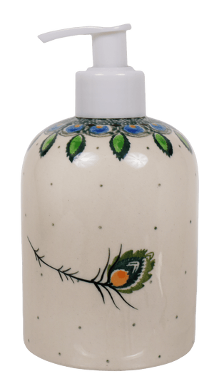 Soap Dispenser (Peacock Plume)