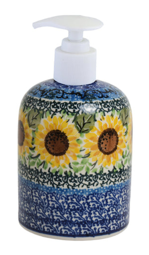 Soap Dispenser (Sunflowers)