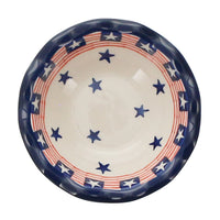 "5"" Fancy Edge Bowl (Stars and Stripes)"