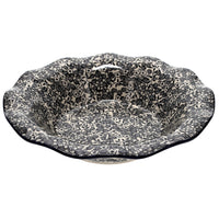 "13"" Fluted Bowl (Night Blossoms)"
