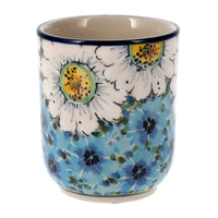 Wine Cup (Regal Daisies - Blue)
