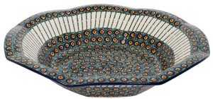 "13.5"" Fluted Bowl (Night Eye)"
