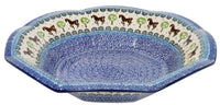 "13.5"" Fluted Bowl (Brown Stallion) 