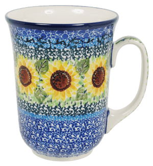 Bistro Mug (Sunflowers)