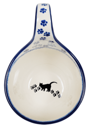 Loop Handle Bowl (Cat Tracks)