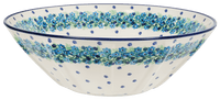 "13.25"" Serving Bowl (Teal Wreath)"