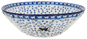 "13.25"" Serving Bowl (Cat Tracks)"