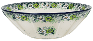 "13.25"" Serving Bowl (Green Anemone)"