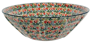 "13.25"" Serving Bowl (Tulip Burst)"