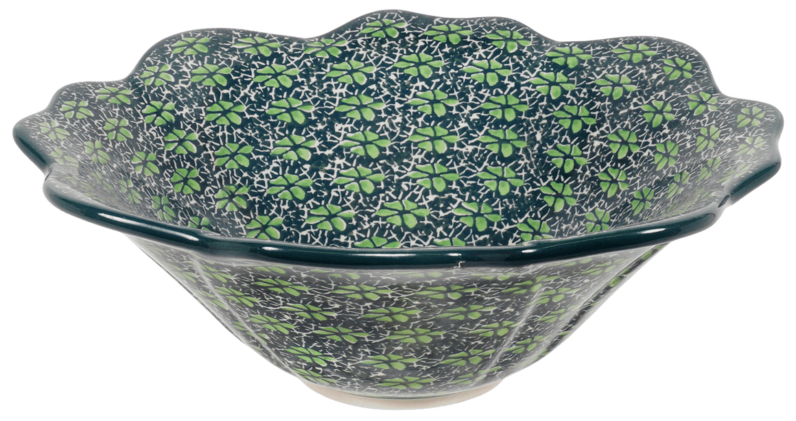 Ornate Flared Bowl (Pride of Ireland)