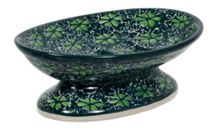 Footed Soap Dish (Pride of Ireland)