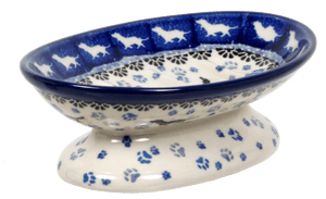 Footed Soap Dish (Wiener Dog Delight)