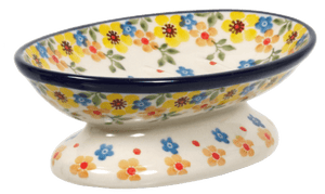 Footed Soap Dish (Garden Delight)