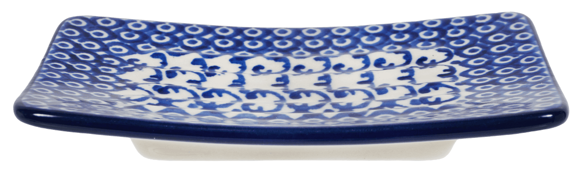 Rectangular Soap Dish (Vintage Blue)