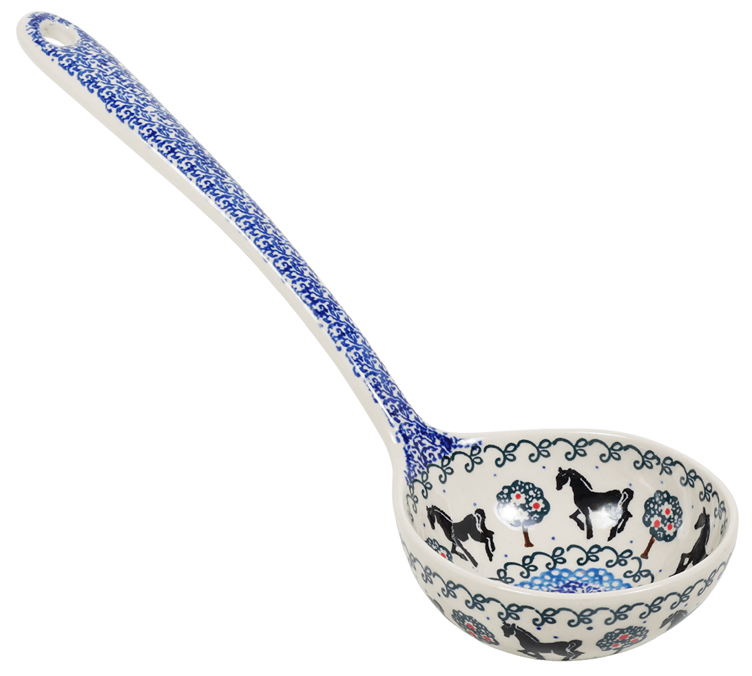 Soup Ladle (Black Stallion)