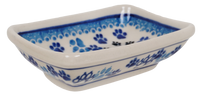 Tiny Rectangular Bowl (Cat Tracks)