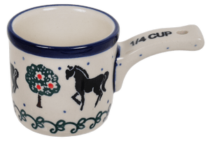 Measuring Cup - 1/4 Cup (Black Stallion)