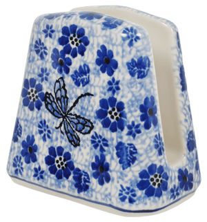 Napkin Holder (Dragonfly on Blue)