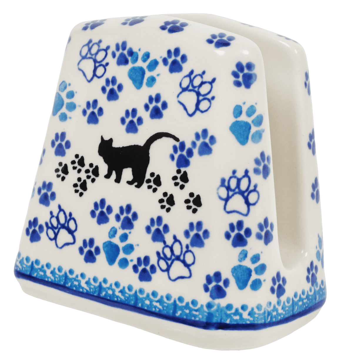 Napkin Holder (Cat Tracks)
