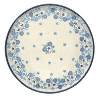 Round Tray (Pansy Blues)