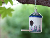 Small Bird House (Lavender in Bloom)