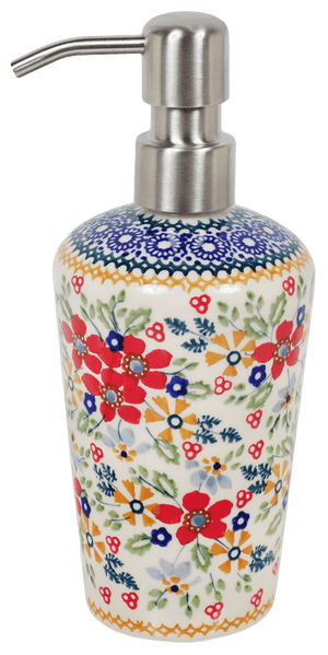 Liquid Soap Dispenser (Ruby Bouquet)