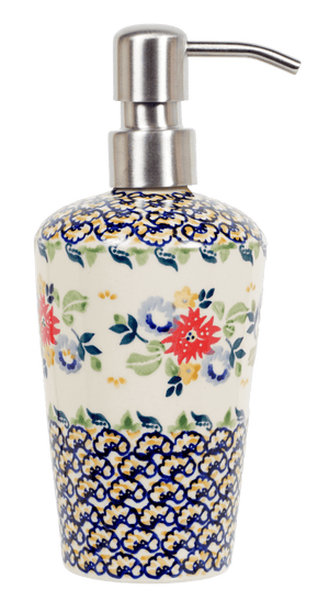 Liquid Soap Dispenser (Basket of Blossoms)