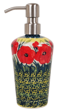 Liquid Soap Dispenser (Poppies in Bloom)