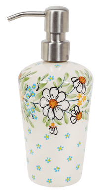 Liquid Soap Dispenser (Daisy Bouquet)