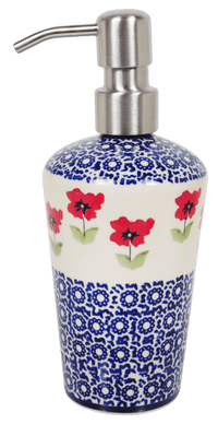 Liquid Soap Dispenser (Poppy Garden)