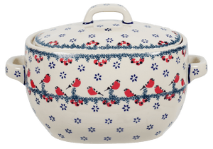 The Stylish Hotpot with handles (Red Bird)
