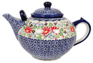 The 3 Liter Teapot (Floral Fantasy)