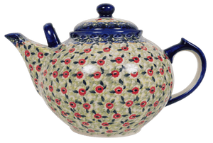The 3 Liter Teapot (Poppy Fields)