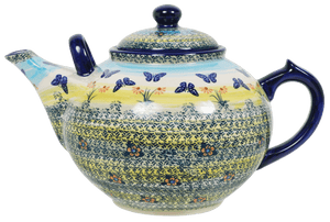 The 3 Liter Teapot (Butterflies in Flight)