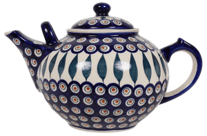 The 3 Liter Teapot (Peacock)
