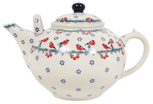 The 3 Liter Teapot (Red Bird)