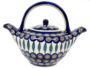The Double Spouted Teapot (Peacock)