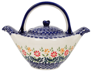 The Double Spouted Teapot (Flower Power)