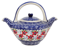 The Double Spouted Teapot (Summer Bouquet)