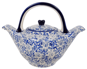 The Double Spouted Teapot (English Blue)