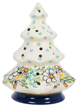 Christmas Tree Luminary (Daisy Bouquet)