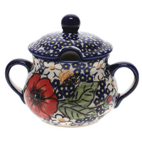The Traditional Sugar Bowl (Poppies & Posies) | C015S-IM02