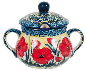 The Traditional Sugar Bowl (Poppies in Bloom)