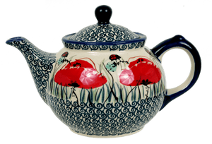 The 0.7 Liter Teapot (Poppy Paradise)