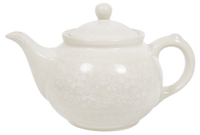 The 0.7 Liter Teapot (Duet in Lace)