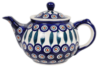 The 0.7 Liter Teapot (Peacock)