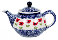 The 0.7 Liter Teapot (Poppy Garden)