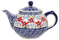 The 0.7 Liter Teapot (Summer Bouquet)