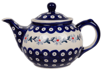 The 0.7 Liter Teapot (Periwinkle Chain)