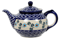 The 0.7 Liter Teapot (Basket of Blue)
